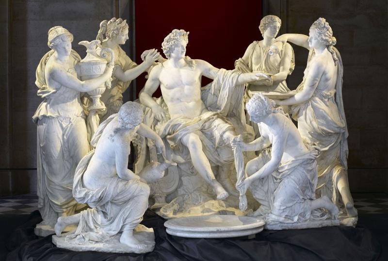 Versailles, Apollon servi par les Nymphes F084-g10