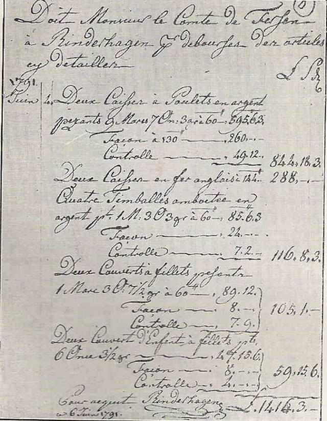 La fuite vers Montmédy et l'arrestation à Varennes, les 20 et 21 juin 1791 - Page 7 Factur10