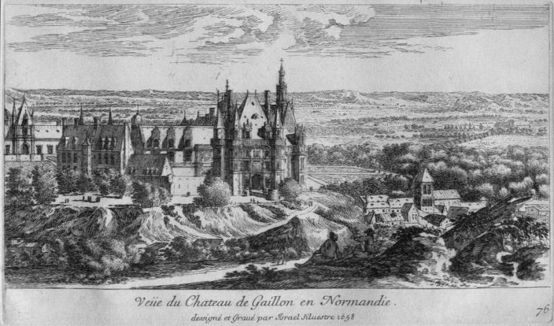 Le voyage de Louis XVI en Normandie Gaillo10