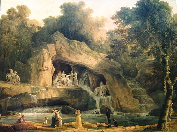 Versailles, le Bosquet des Bains d'Apollon Hubert10