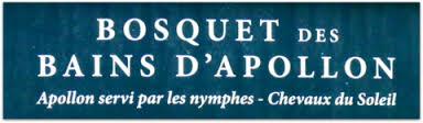 Versailles, le Bosquet des Bains d'Apollon Images44