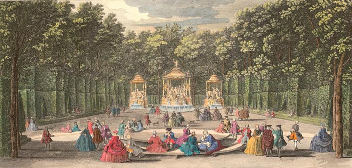 Versailles, le Bosquet des Bains d'Apollon La_bon11