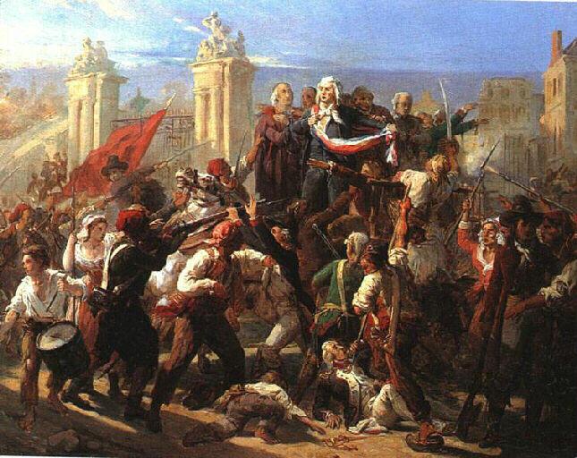 L'après Louis XVI et Marie-Antoinette, à Versailles M0400010