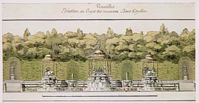 Versailles, le Bosquet des Bains d'Apollon M5020011