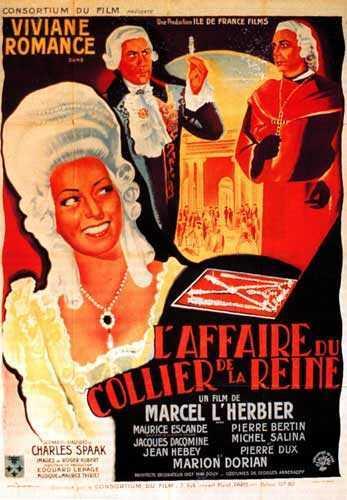 Film : L'affaire du collier, de Marcel Lherbier Media10
