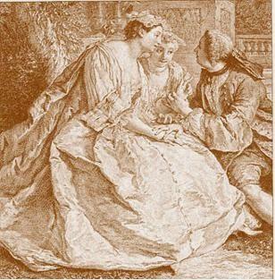"""La robe dite """"de chambre"""", pour les femmes, au XVIIIè siècle Nouvel10"""