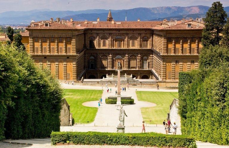 Buste de Marie-Antoinette, Palais Pitti (Florence) Palais10