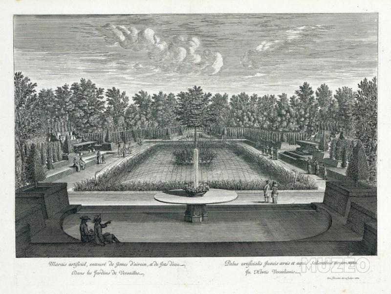 Versailles, le Bosquet du Marais Recuei10