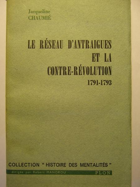Le réseau du comte d'Antraigues et la Révolution Reseau10