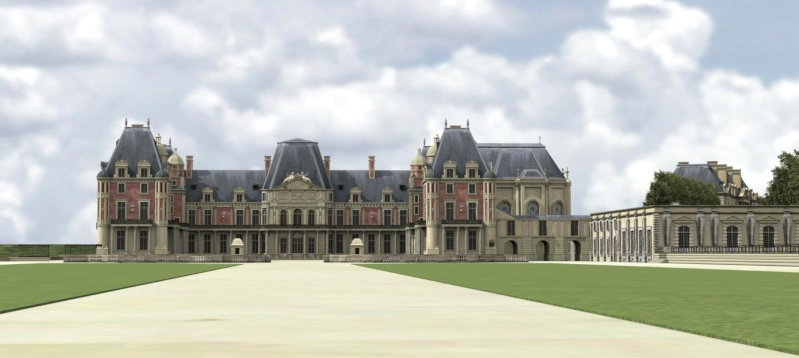 Meudon - Le château de Meudon Restit10