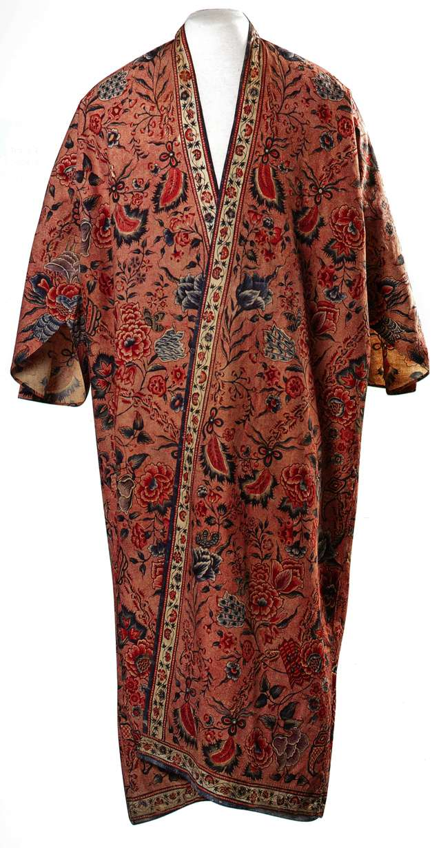 Manteau d'intérieur et robe de chambre pour les hommes au XVIIIe siècle Robe_c10