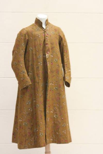 Manteau d'intérieur et robe de chambre pour les hommes au XVIIIe siècle Robe_d10