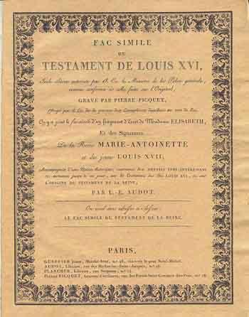 Le Testament de Louis XVI Testam11