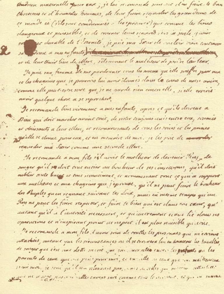 Le Testament de Louis XVI Testam13