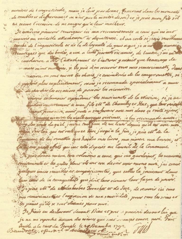 Le Testament de Louis XVI Testam14