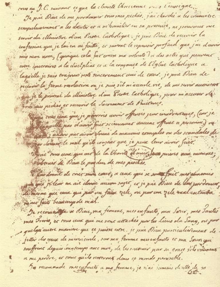 Le Testament de Louis XVI Testam15