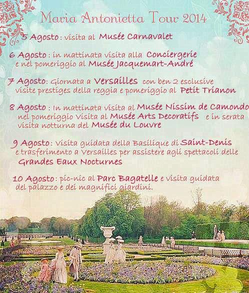 Site : La Parigi di Maria-Antonietta Tour_p10