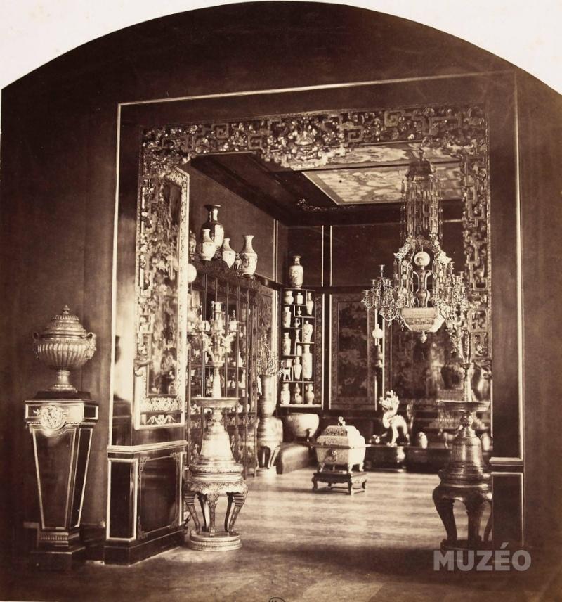 Le Pavillon Chinois de Marie-Antoinette,  à Fontainebleau  Vue_in10