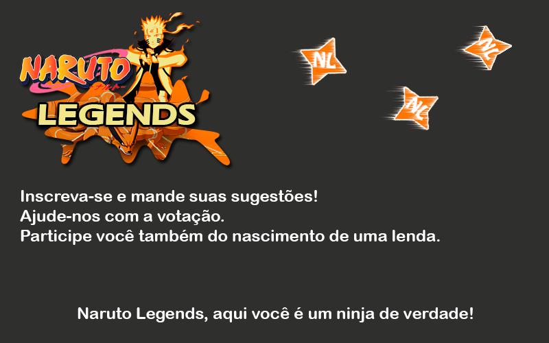 Naruto Legends MODERAÇÃO