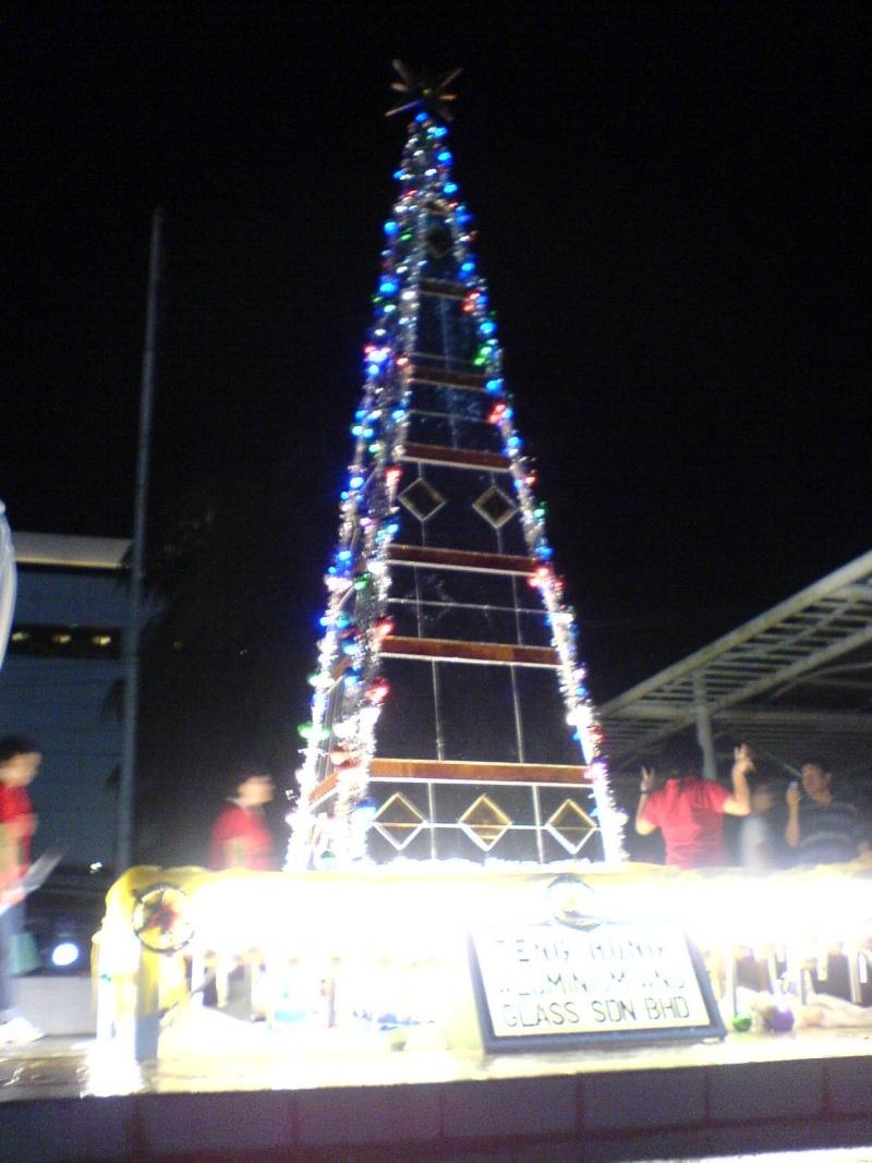 cHristmas tRees in siBu... Dsc00610