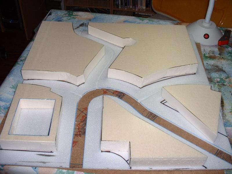 Ville modulaire : le sous sol du quartier résidentiel 1souss10