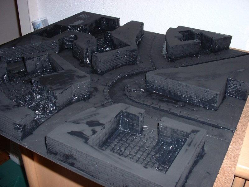 Ville modulaire : le sous sol du quartier résidentiel 3souss10