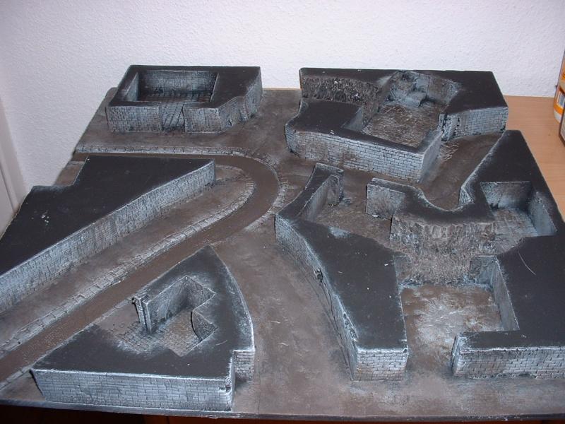 Ville modulaire : le sous sol du quartier résidentiel 4souss10