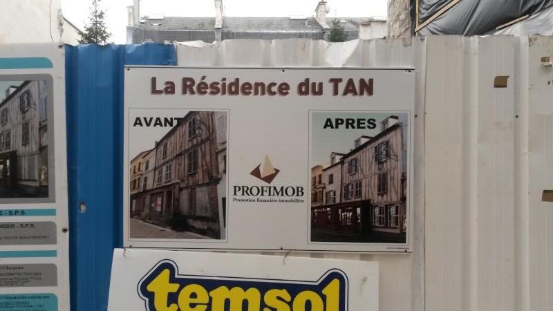 Destruction SCANDALEUSE rue du Tan ! 20160110
