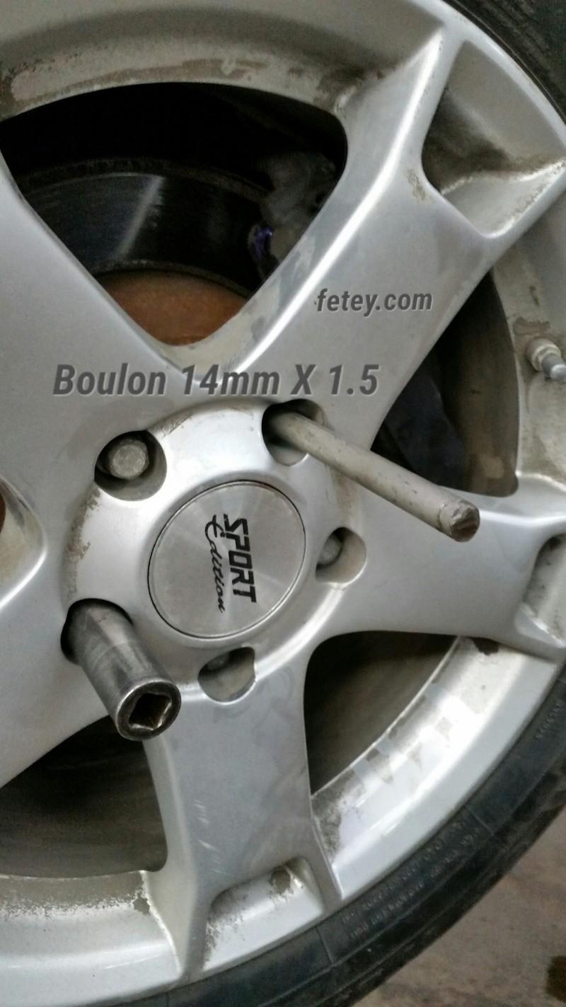 Truc pour installer les roues sur les véhicules Euro avec boulons au lieu de studs 2015-116