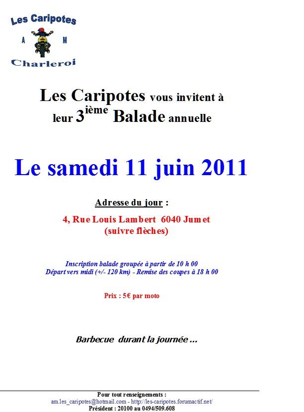 balade annuelle de l'amc les caripotes Balade18