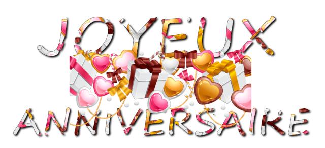 bonne anniversaire Fairy Luto et bac à sable 10189010
