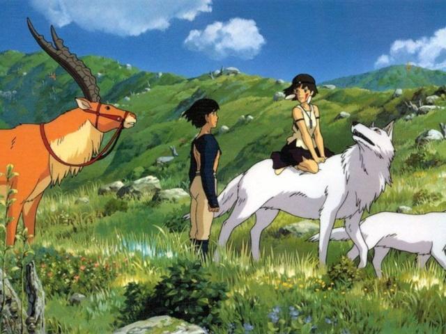 Images des dessins animés du Studio Ghibli Mangas10