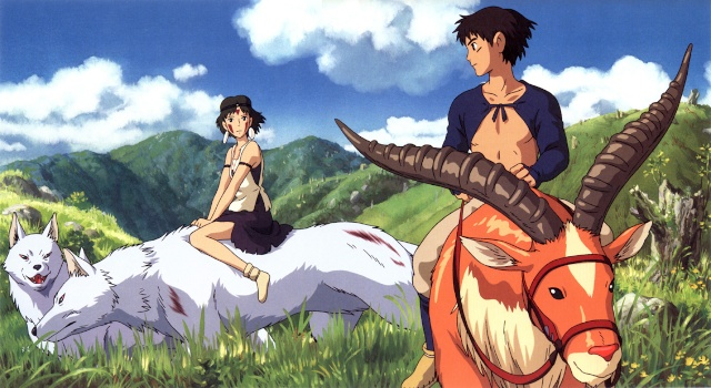 Images des dessins animés du Studio Ghibli Monono11