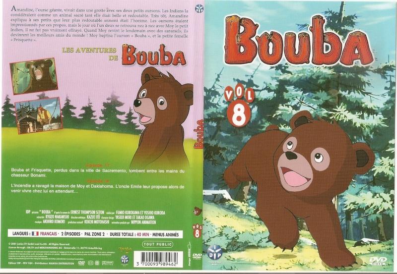 Coffret DVD Bouba le petit ourson chez Kaze Numari39