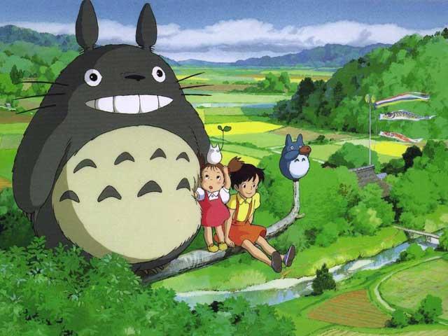 Images des dessins animés du Studio Ghibli Totoro12