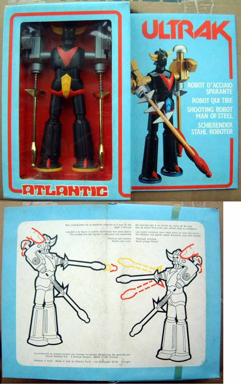 INTROVABILI : ULTRAK goldrake Atlantis Ultrak11