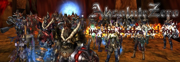 AbsoluteZero :: Shaiya Teos Guild
