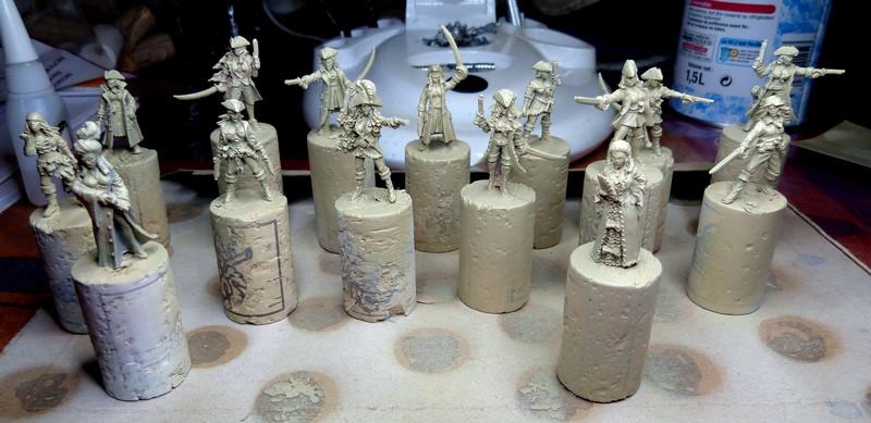 warband - Dwarven, night goblins & pirates warband. P1020719