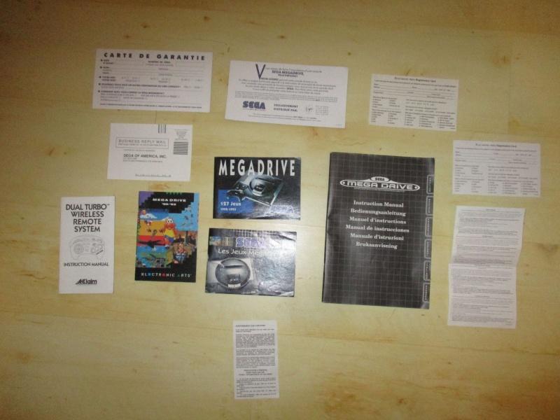 [ECH] Jeux Megadrive + Pub/Notice Megadrive Notice10