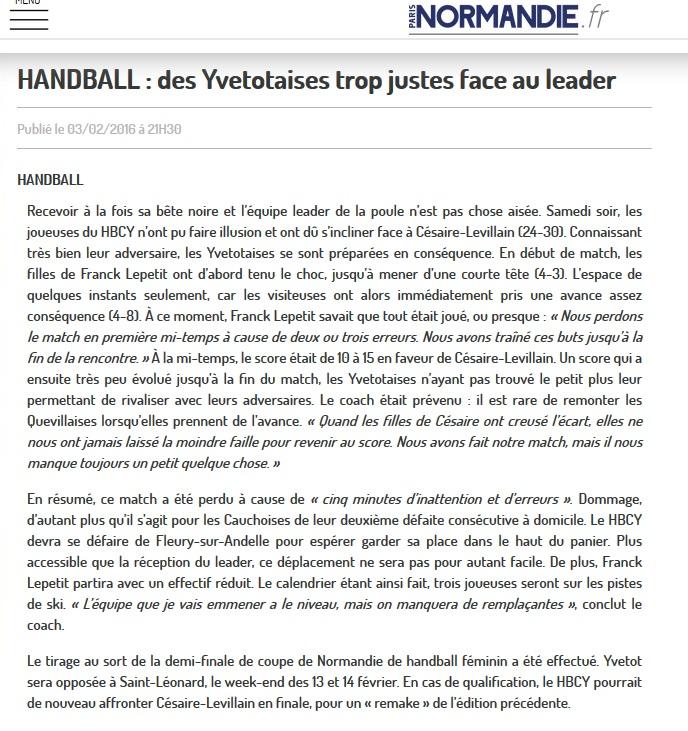 Yvetot HBC - Page 4 Sans_t33