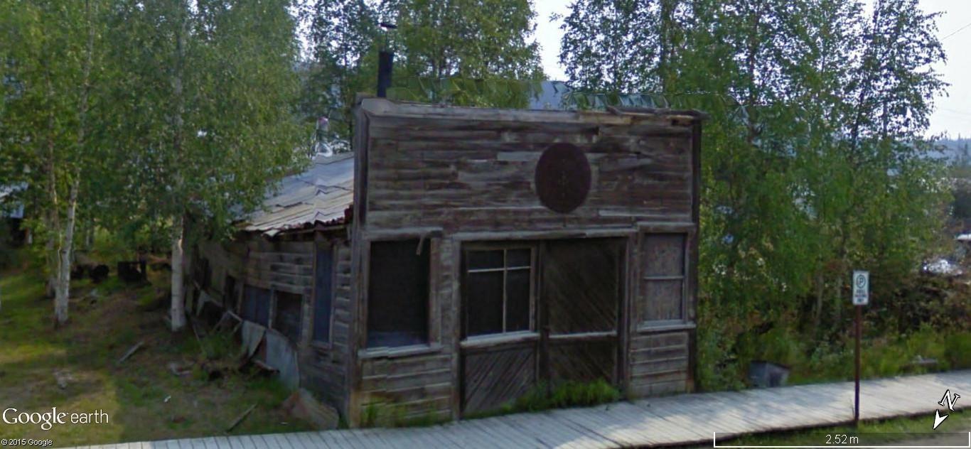 Dawson City, ville témoin de la ruée vers l'or du Klondike. 0i2k1511