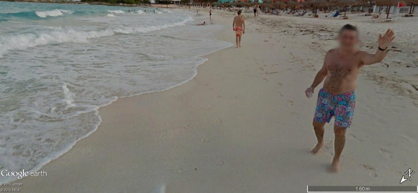 STREET VIEW: Vamos a la playa. Cancun, Mexique  115