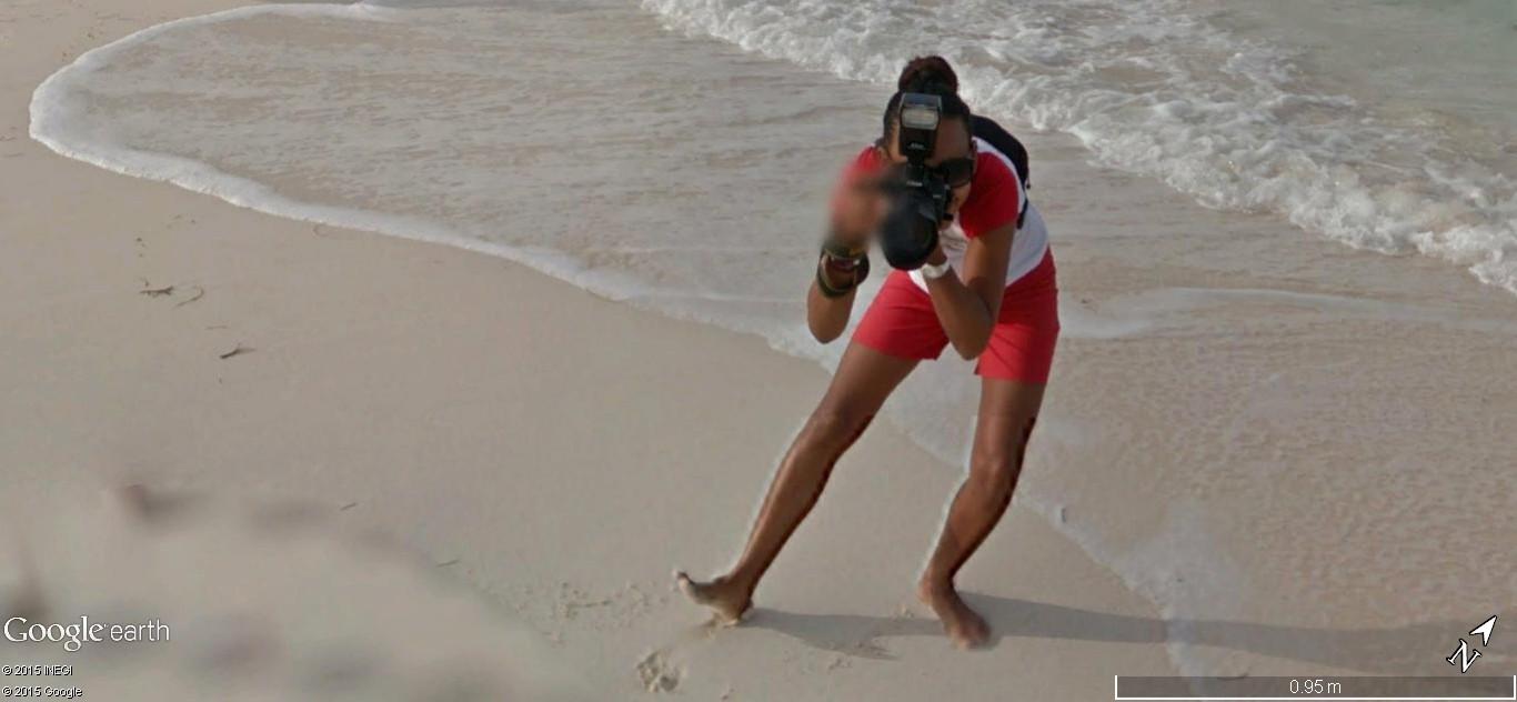 STREET VIEW: Vamos a la playa. Cancun, Mexique  116
