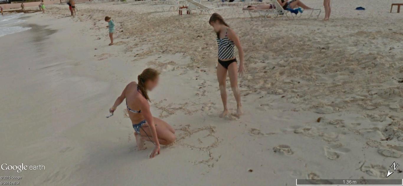 STREET VIEW: Vamos a la playa. Cancun, Mexique  120