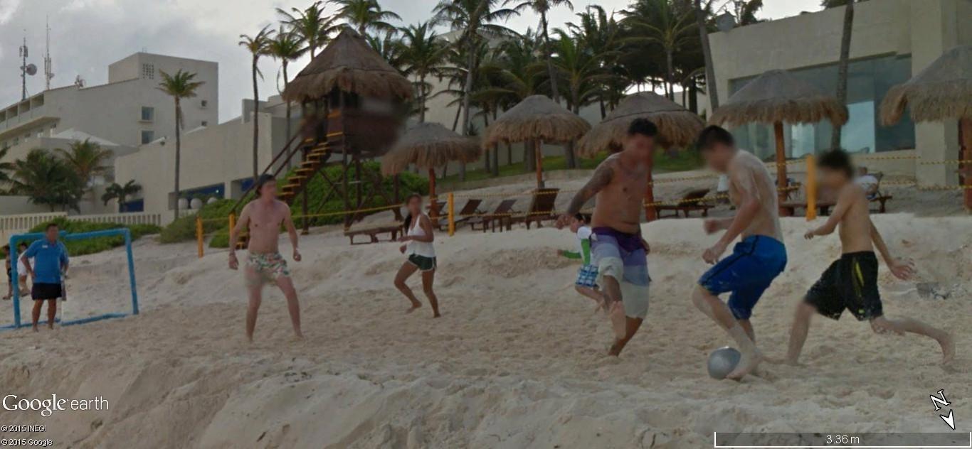 STREET VIEW: Vamos a la playa. Cancun, Mexique  121