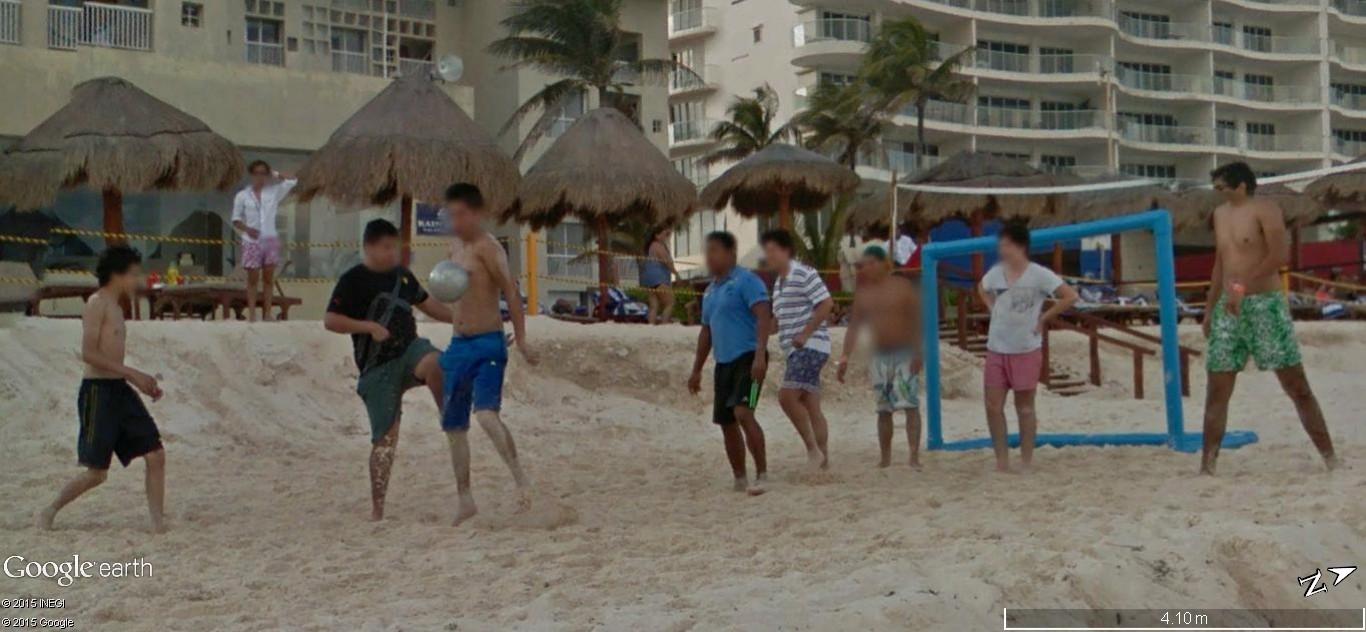 STREET VIEW: Vamos a la playa. Cancun, Mexique  122