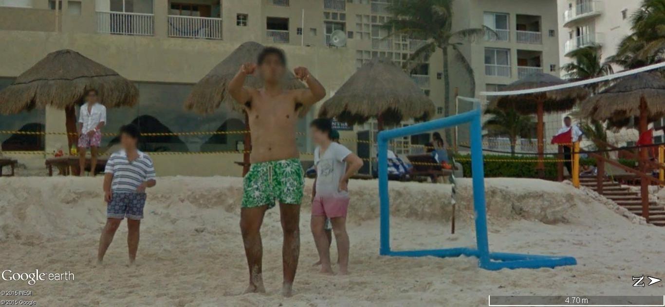 STREET VIEW: Vamos a la playa. Cancun, Mexique  123