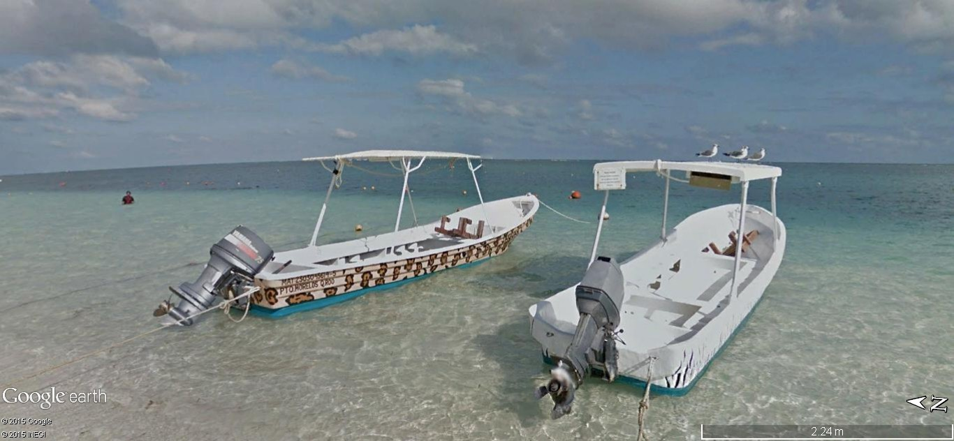 STREET VIEW: Vamos a la playa. Cancun, Mexique  126