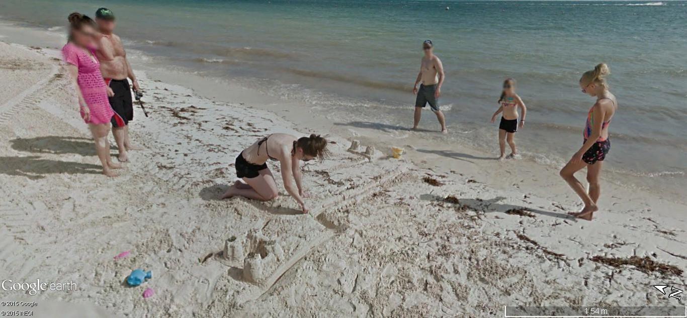STREET VIEW: Vamos a la playa. Cancun, Mexique  134