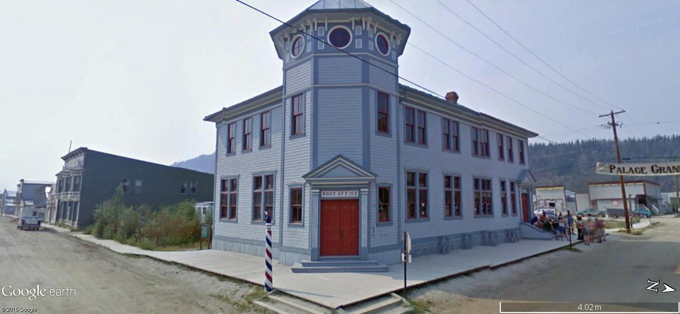 Dawson City, ville témoin de la ruée vers l'or du Klondike. 141